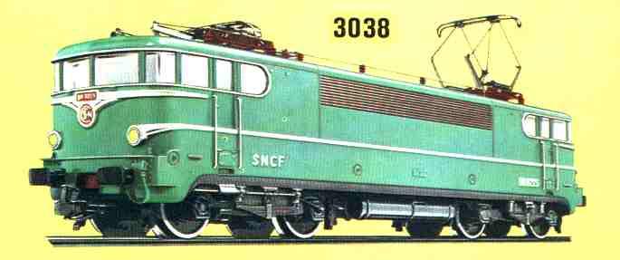 Märklin 3038 Katalogbild