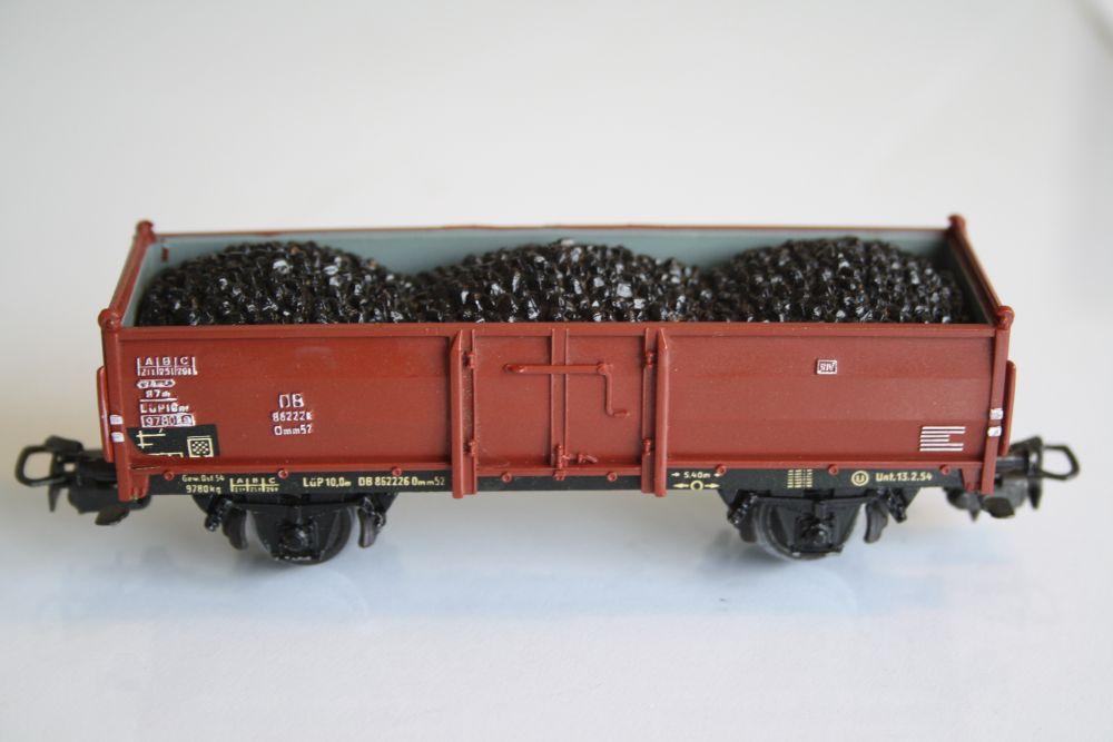 Märklin 4604 Offener Güterwagen mit Steinkohle
