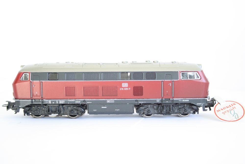 Marklin 3075 DB 216 Mit Prufsiegel