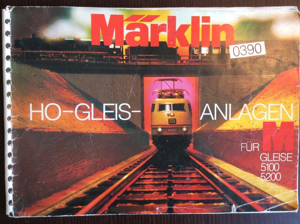 0390 Märklin Gleisanlagen für M-Gleise 5100 5200