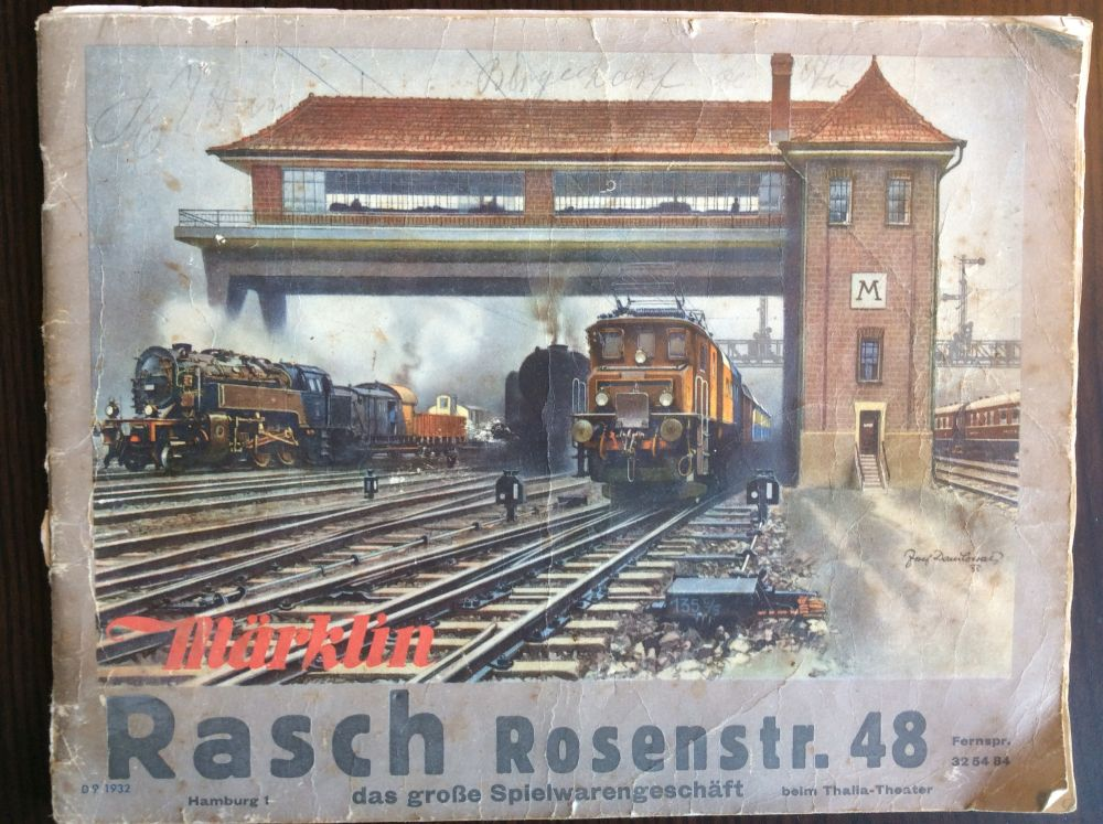 Märklin Katalog 1932