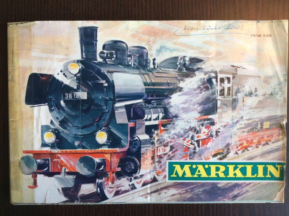 Märklin Katalog 1967-1968