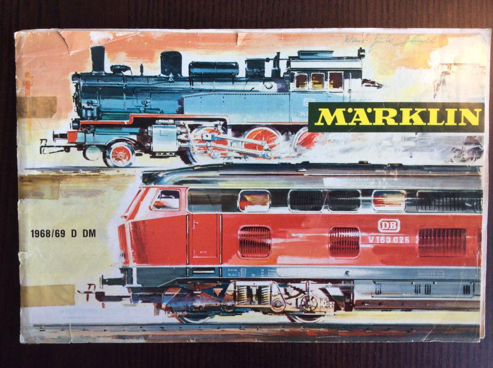 Märklin Katalog 1968-1969