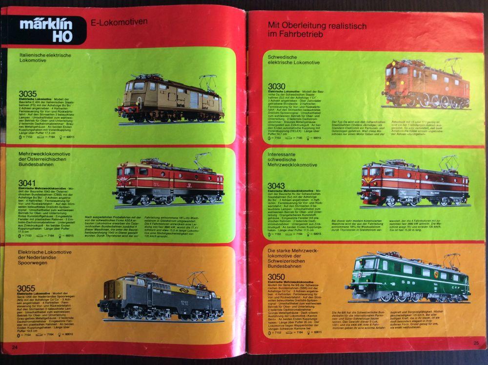 Märklin Katalog 1978
