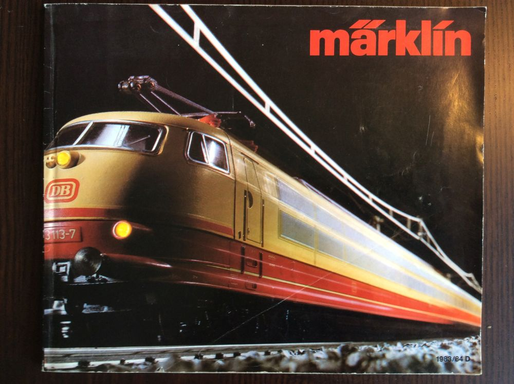 gebr. 89  Gesamtprogramm Märklin Katalog von 1988