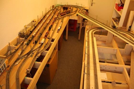 Modellbahn-Anlagenbau Bahnhof