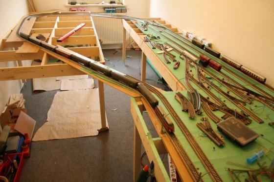Modellbahn Anlagenbau mit Märklin