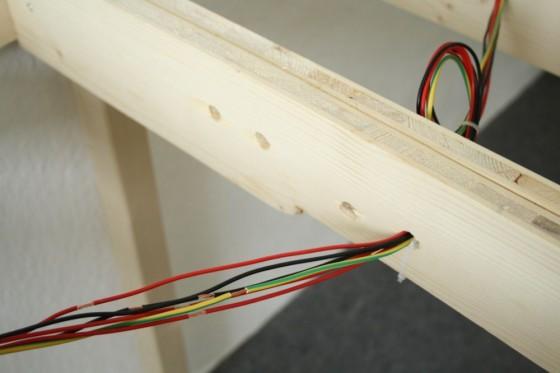 Modelleisenbahn Kabelkanal für Ringleitung