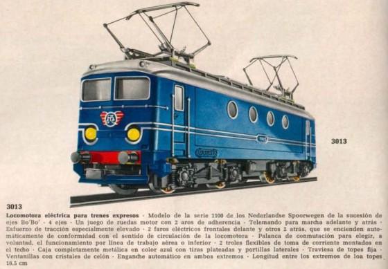 Märklin 3013 im Italien-Katalog 1966