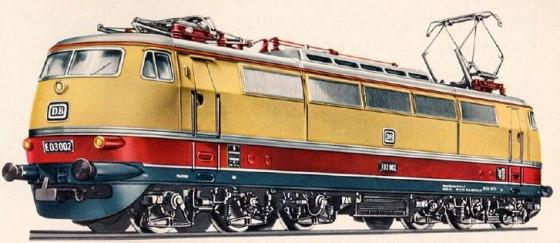 Märklin 3053 E03 Katalogbild