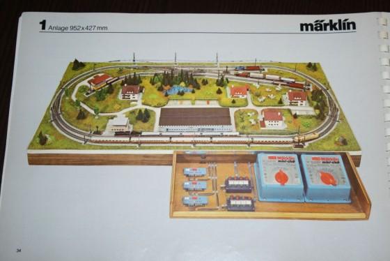 Märklin MiniClub Gleisplan Schauanlage