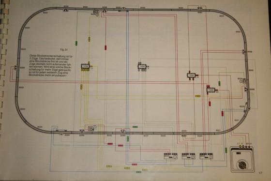 Märklin Spur Z Gleisplan Blockstreckenschaltung
