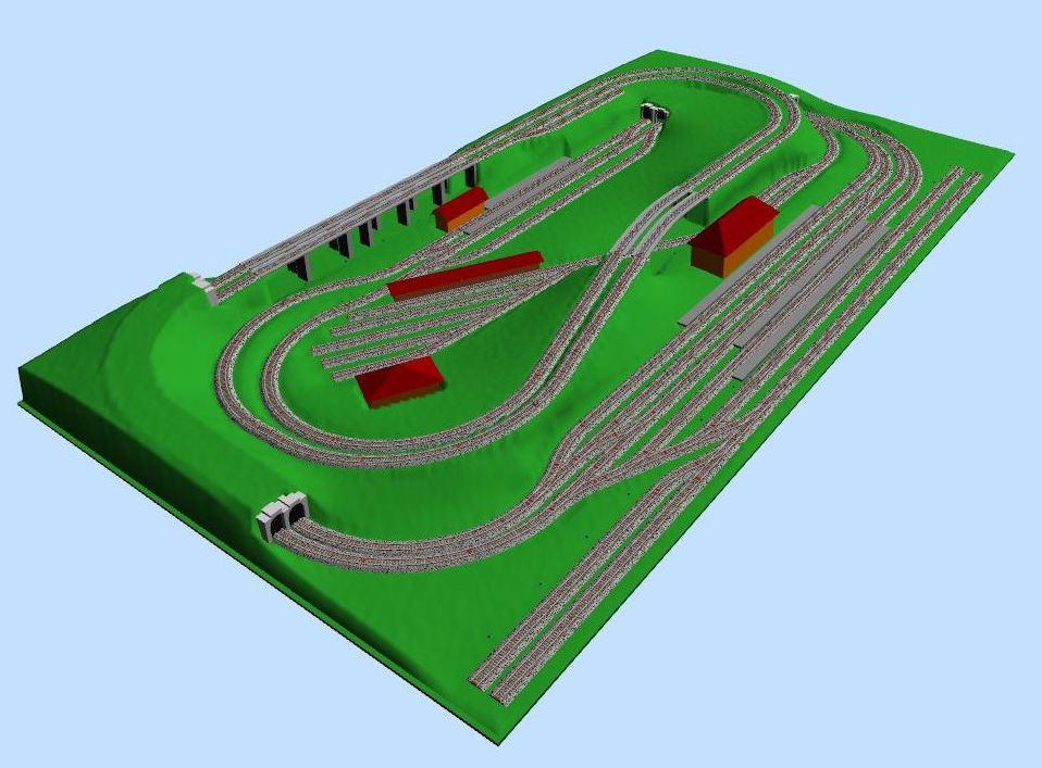 Modellbahn-Gleispläne nachbauen