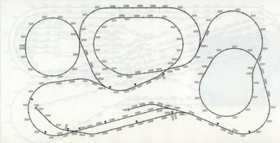 Modelleisenbahn-Nachbau: Bergstrecke mit Gleiswendel