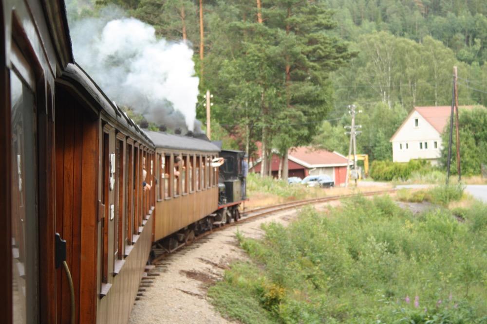Norwegen Dampfeisenbahn Setesdalbanen