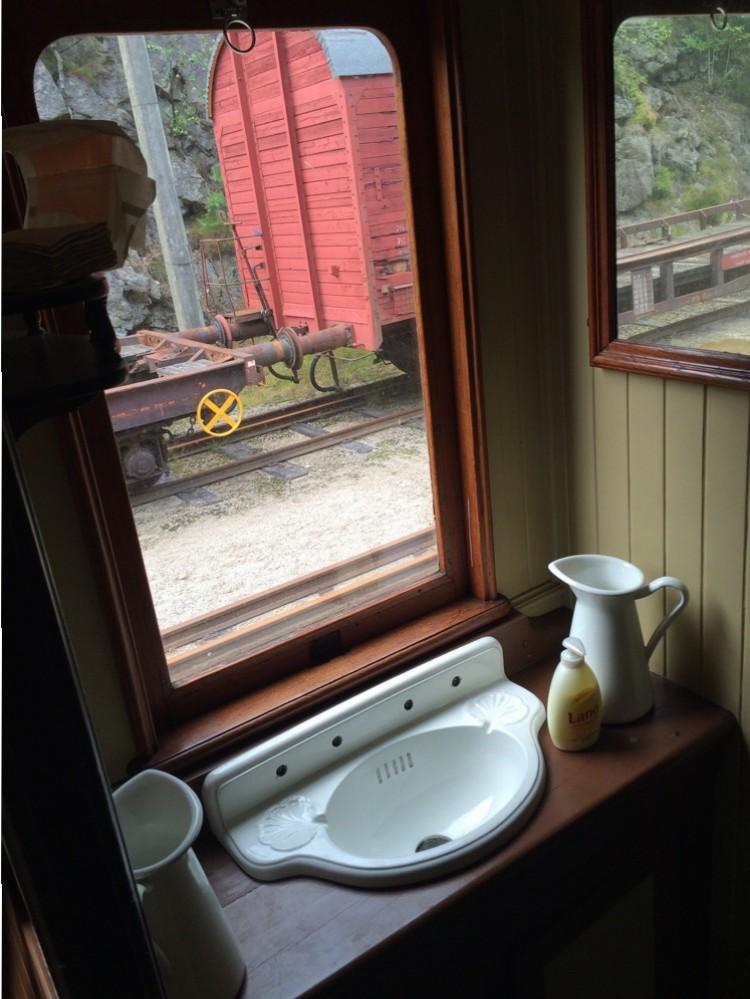 Zugtoilette Setesdalbanen