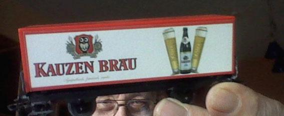 Märklin Bierwagen Kauzenbräu