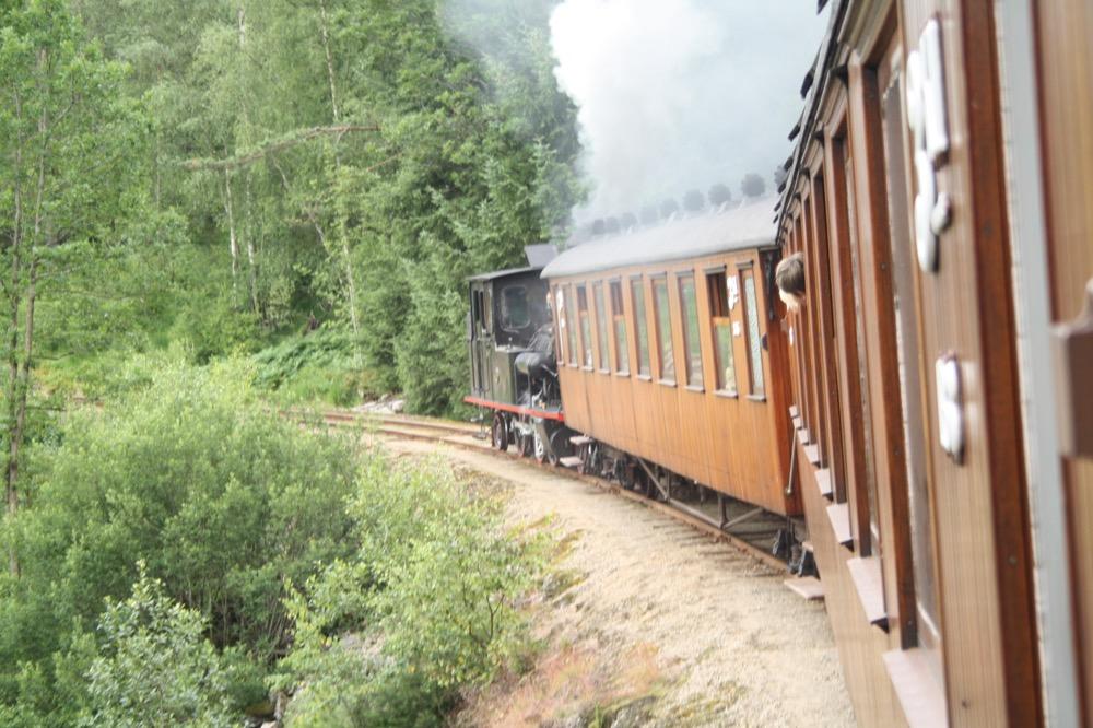 Dampf-Museumsbahn Norwegen