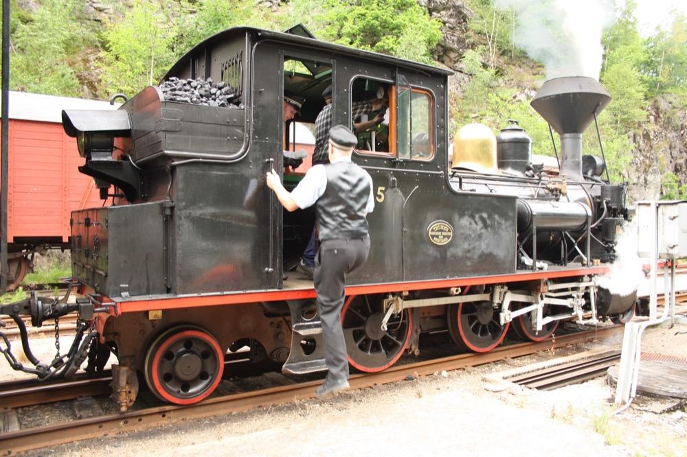 Dampflokomotive Setesdalbanen
