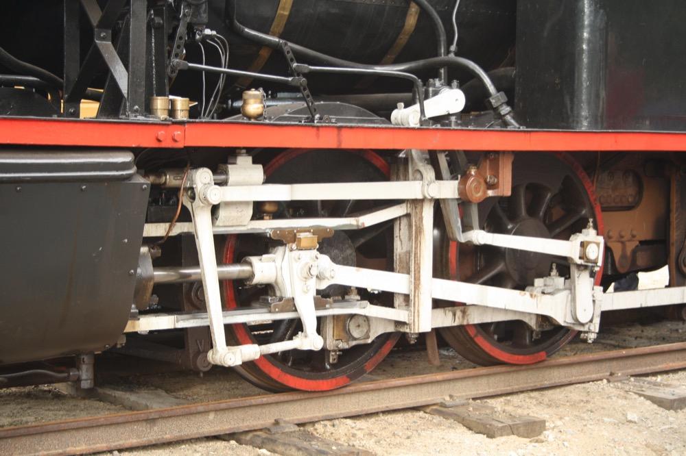 Dampfzylinder Setesdalbanen