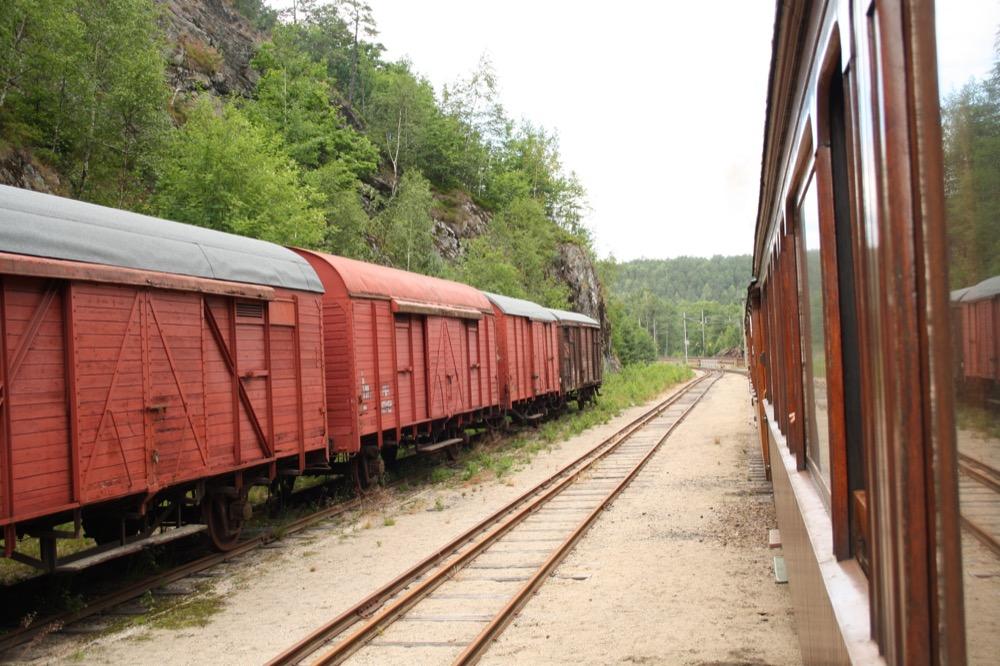 Güterwagen der Setesdalbanen