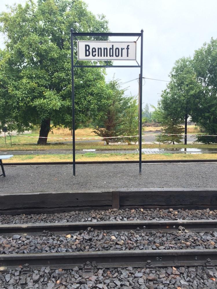 Bahnhof Benndorf im Harz