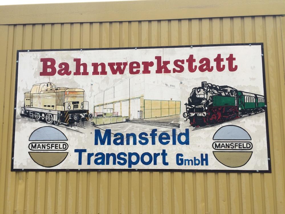 Bahnwerkstatt Mansfeld-Benndorf