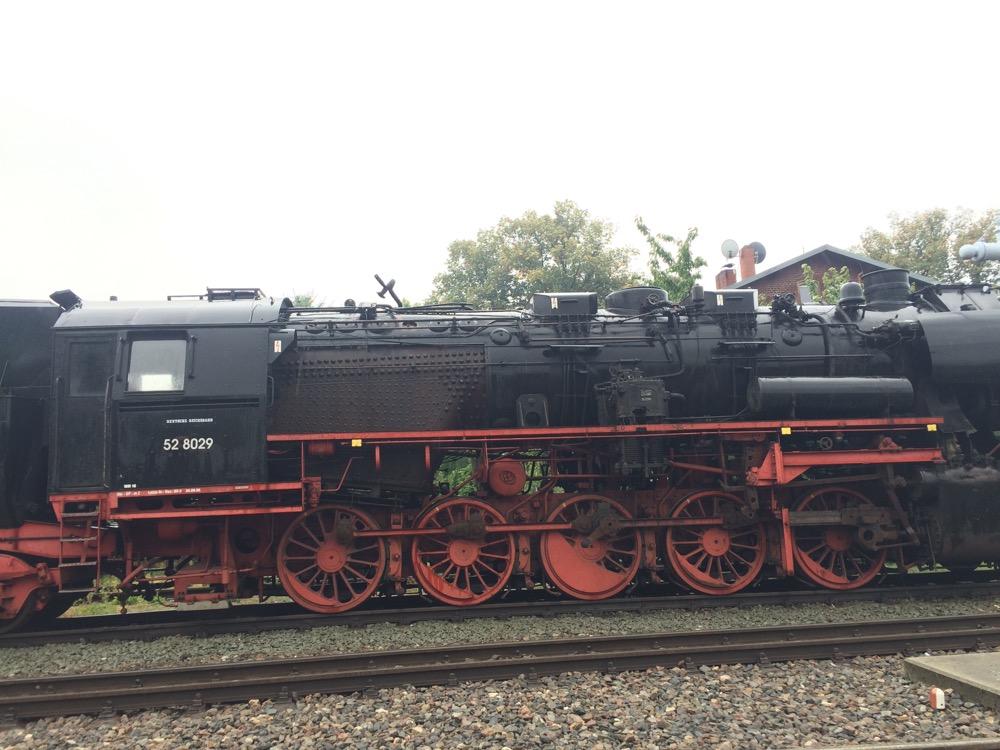 Dampflokomotive BR 52-8