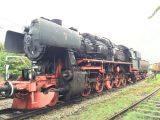 Dampflok BR 52 zerfällt