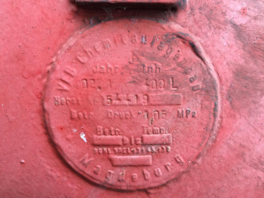BR 52 Druckbehälter