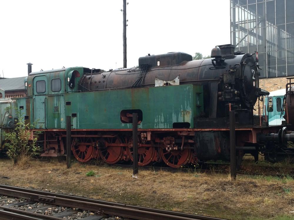 Dampflok in der MaLoWa Bahnwerkstatt Mansfeld