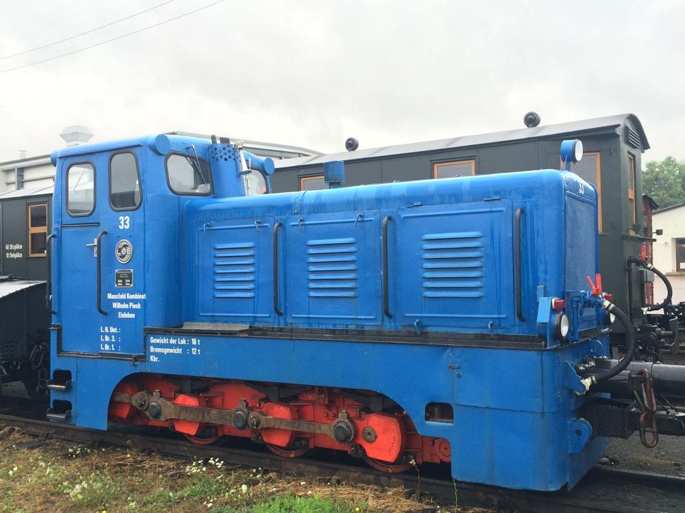 Diesellok-Instantsetzung