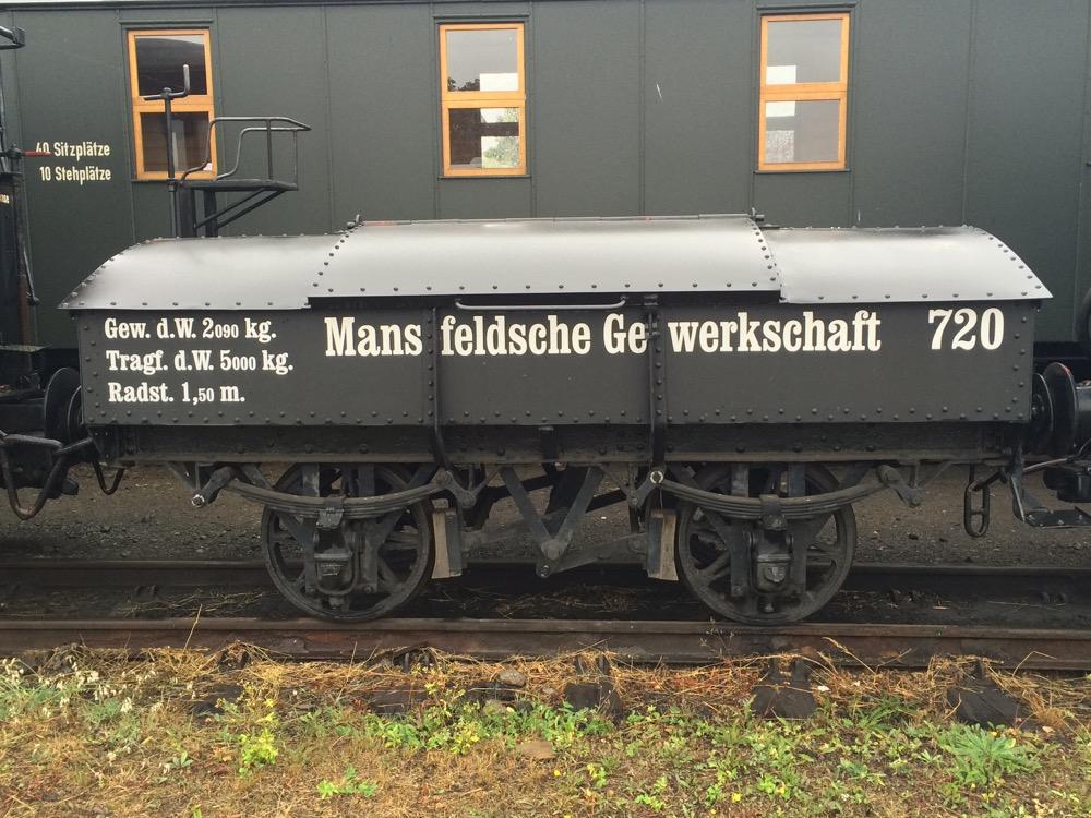 Güterwagen Mansfeldsche Gewerkschaft