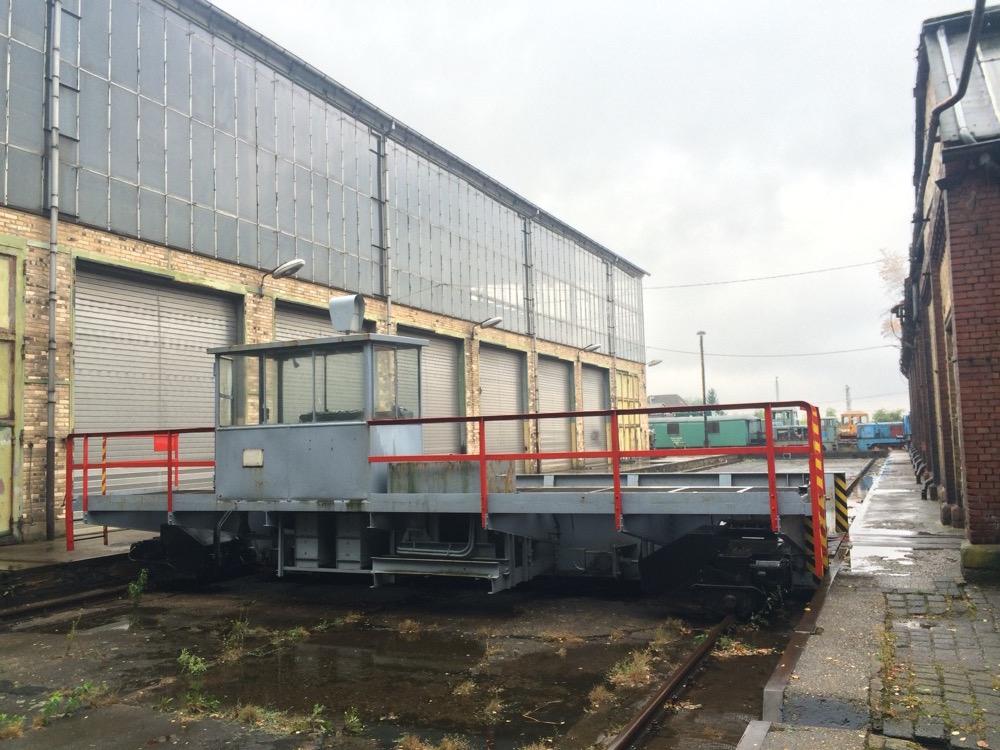 Schiebebühne Lokomotivenfabrik Mansfeld
