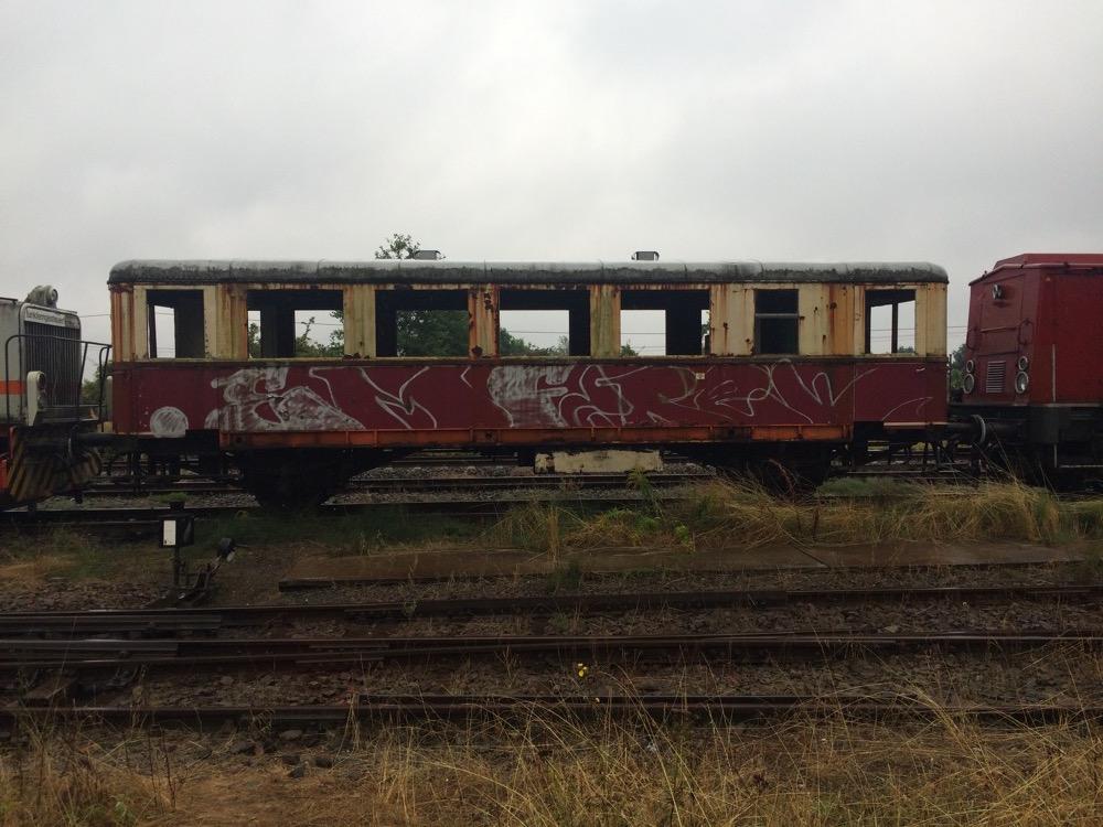 Triebwagen Bahnwerkstatt Benndorf