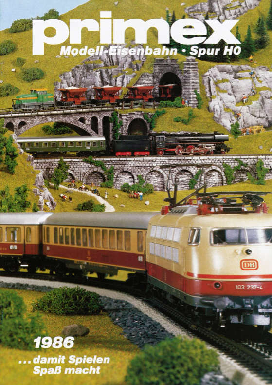 Märklin Primex Katalog-Download 1986
