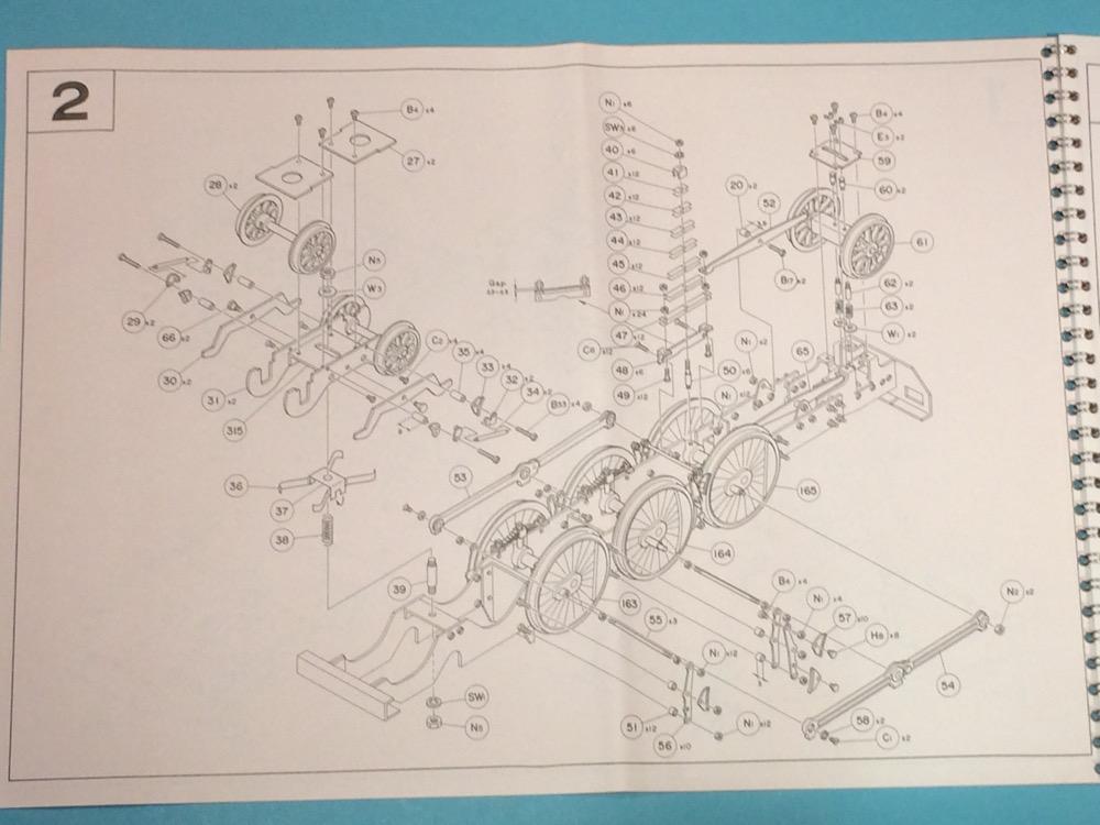 Aster BR 01 Explosionszeichnung