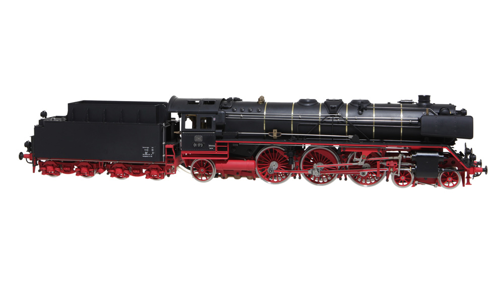 Aster BR 01 Livesteam Locomotive