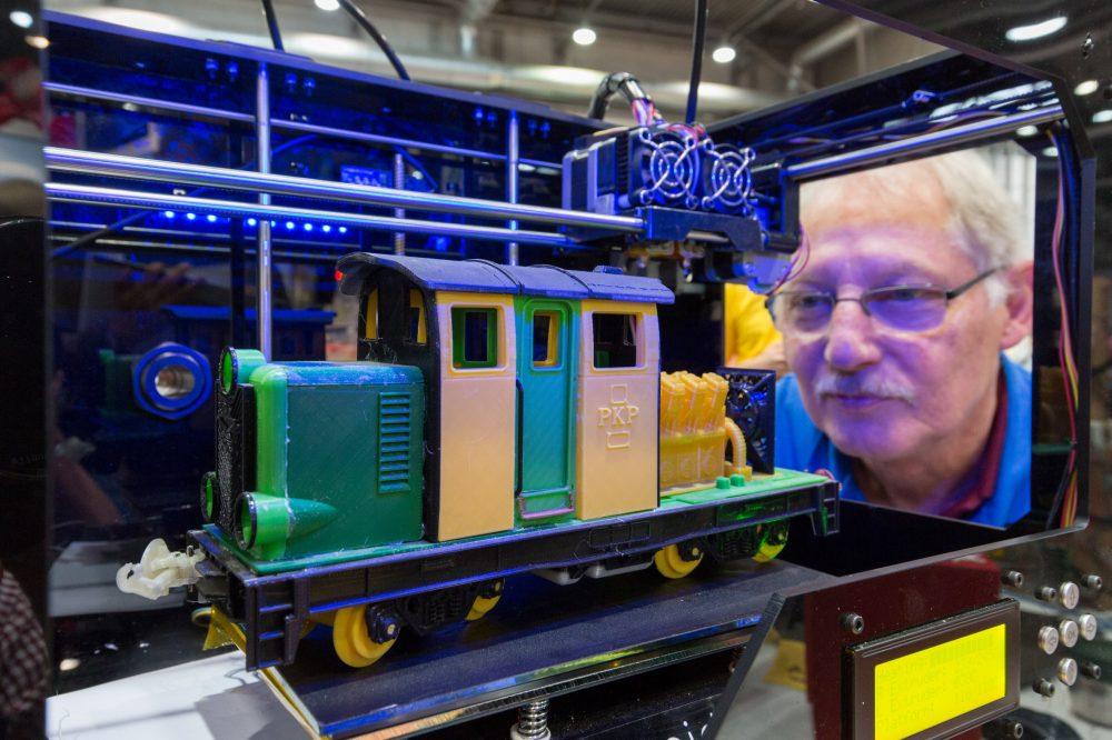 Modellbahn 3D-Drucker
